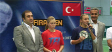 12th TED Fıratpen tournament has ended. Tsurenko is the winner in singles
