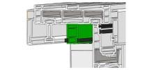 Üst Yalıtım Profili sayesinde, üst yatayda iki kanat arasında hava geçişi engellenmektedir.