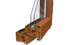 Lamine PVC Pencere