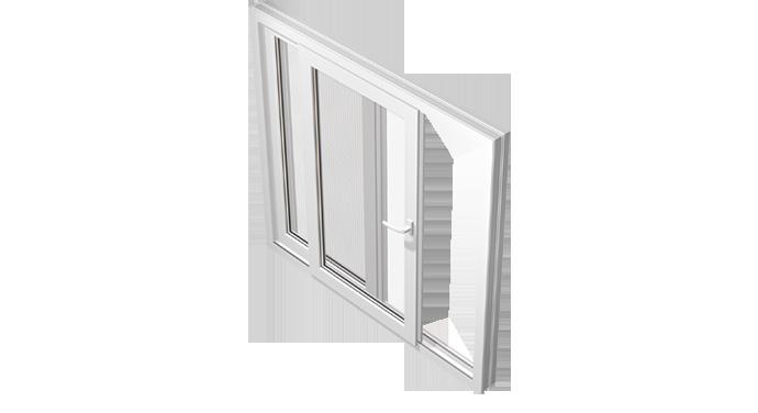 Sürme PVC Pencere Serisi