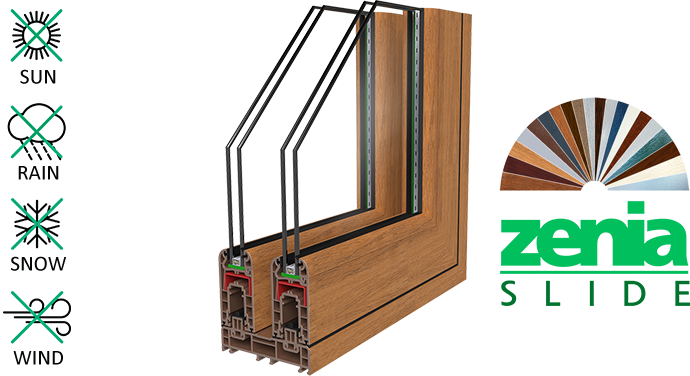 Zenia Slide (Insulated Sliding Systems)