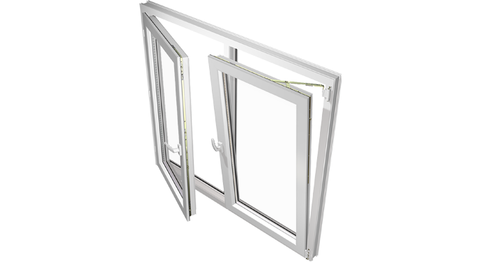 Double Sash Turn Only Windows